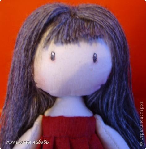 Помните Сюзанну? После долгих душевных терзаний,я добавила ей челку и волосы погуще .  фото 3