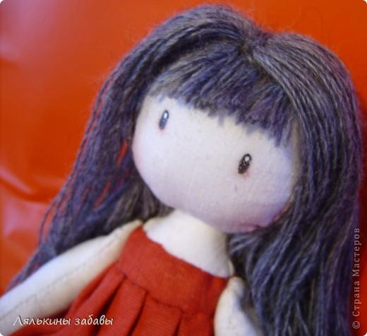 Помните Сюзанну? После долгих душевных терзаний,я добавила ей челку и волосы погуще .  фото 4