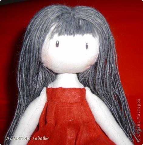 Помните Сюзанну? После долгих душевных терзаний,я добавила ей челку и волосы погуще .  фото 5