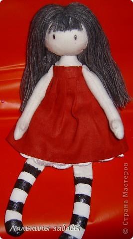Помните Сюзанну? После долгих душевных терзаний,я добавила ей челку и волосы погуще .  фото 6