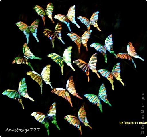 Эти полностью завершённые:)))   Уж очень хотелось бабочек из чего нить соорудить!!!!! вот результат большого хотения!!!:))))) фото 2