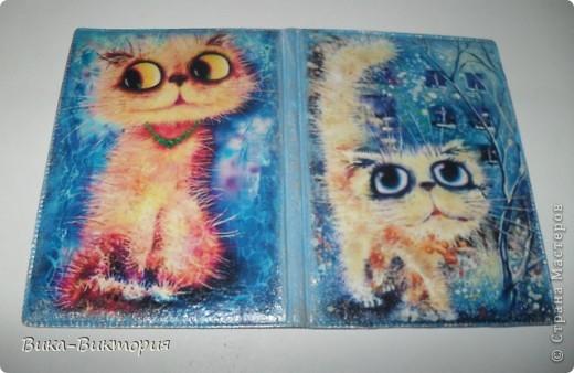 Моя первая обложка, автора картинки к сожалению я не знаю, но уж очень понравились котики. фото 1