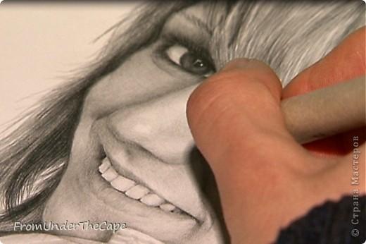 Первая стадия портрета. фото 6