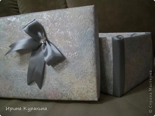 2 коробочка для свадебных бокалов фото 4