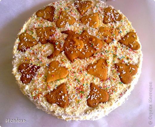 """Торт """"Медовая рыбка"""" Вот такую красоту я испекла на свой 21 день рождения!:)"""