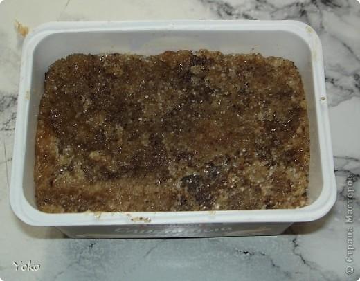 Приветик всем! Вот решила поделиться рецептиком сахарного скрабика (как его делаю я). Простите за качество фотографий: делала буквально за полчаса до похода в баню)))))))) Итак приступим! фото 12