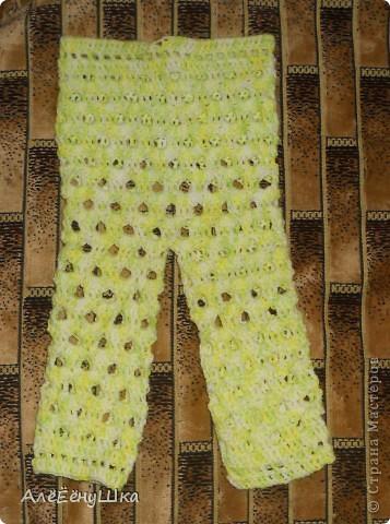 штанишки для будущего малыша фото 1