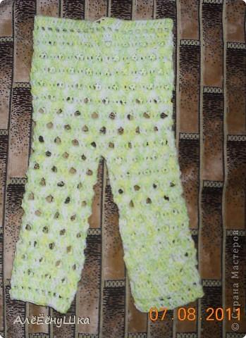 штанишки для будущего малыша фото 2