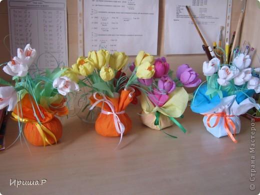 Цветочки для преподавателей  фото 1