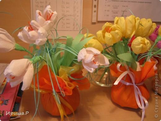 Цветочки для преподавателей  фото 2