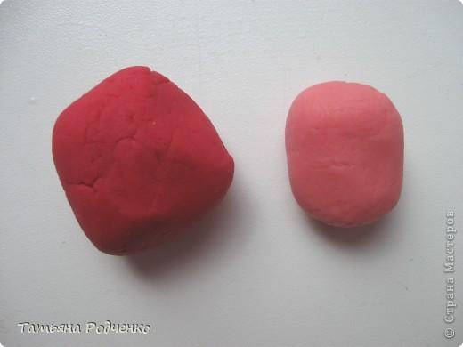 Предлагаю свой мастер-класс по лепке фиалок из холодного фарфора. фото 2