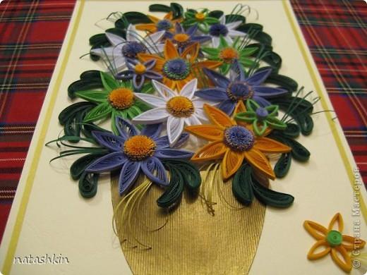 Здравствуйте, уважаемые мастерицы  Страны! Моя картинка  сделана  по  мотивам цветочной  фантазии MaryBond. Спасибо  ей  за  вдохновение. фото 2