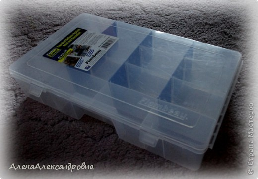 Сегодня купила на рынке в отделе для рыбаков такой ящик для хранения.Есть и побольше, многоярусные, с выдвижными ящиками, но цена кусается. фото 1