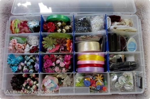 Сегодня купила на рынке в отделе для рыбаков такой ящик для хранения.Есть и побольше, многоярусные, с выдвижными ящиками, но цена кусается. фото 3