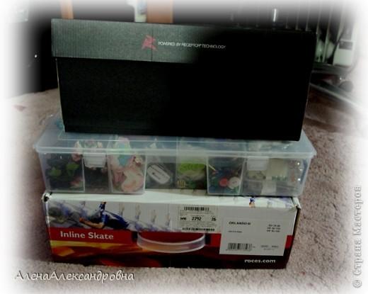 Сегодня купила на рынке в отделе для рыбаков такой ящик для хранения.Есть и побольше, многоярусные, с выдвижными ящиками, но цена кусается. фото 8