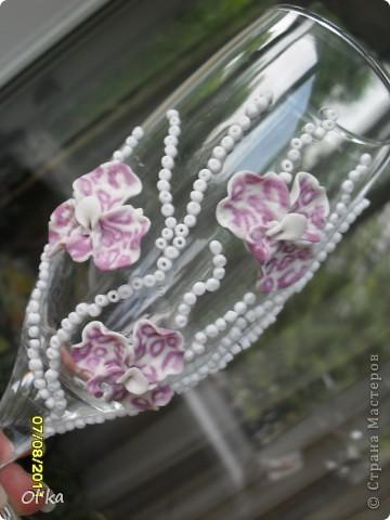 Хочу сказать СПАСИБО своей вдохновительнице - Валентинке Порчелли. Это её орхидеи вдохновили меня на эту работу.  фото 2