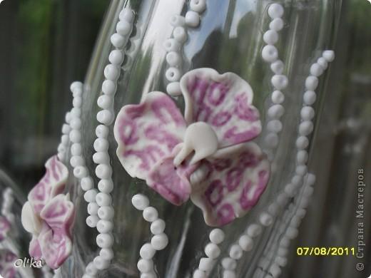 Хочу сказать СПАСИБО своей вдохновительнице - Валентинке Порчелли. Это её орхидеи вдохновили меня на эту работу.  фото 3