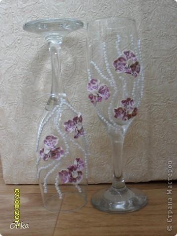 Хочу сказать СПАСИБО своей вдохновительнице - Валентинке Порчелли. Это её орхидеи вдохновили меня на эту работу.  фото 5