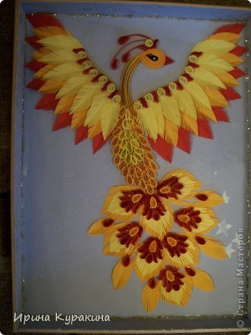 я уже делала такую жар птицу,а тут день рождения у свекрови, вот и накрутила фото 1