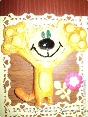 Вдохновилась на эту работу вот здесь http://stranamasterov.ru/node/150098?c=favorite . И вот, что получилось у меня! Цветочек, рамочка и листочек - это Ваш подарок, мои друзья! Улыбнемся вместе с этим забавным Рыжиком и понесем хорошее настроение дальше! фото 1