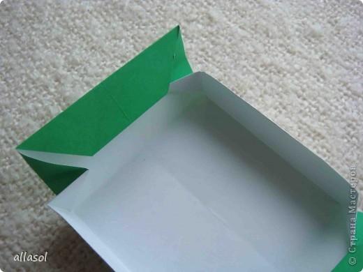 Здравствуйте! Вот пополнила свою коллекцию коробочек. Коробочку нашла в книге Афонькиных.  фото 11