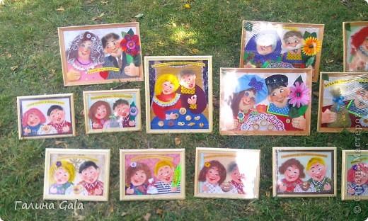 В нашем городе Муроме в это лето проходило два праздника.День семьи, любви и верности 8 июля и День города 6 августа. Это сборный фоторепортаж с обоих праздников.  Ромашки- символ Дня семьи фото 13