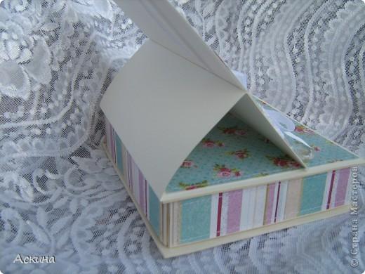 Идею такой шкатулки увидела у нашей мастерицы Юлии (YuliaM) http://stranamasterov.ru/node/201229 и сразу же захотелось сделать,тем более повод был. фото 10