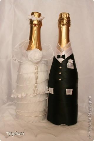 """Свадебное  """"Жемчужная пара"""" - моя первая работа. """"Жениху и Невесте"""", хотелось бы какой-нибудь головной убор, для них, конечно лучше всего шляпы, но, к сожалению, весь картон у меня в деле =), поэтому у Невесты цветочный веночек, кажется и так не плохо =) фото 1"""