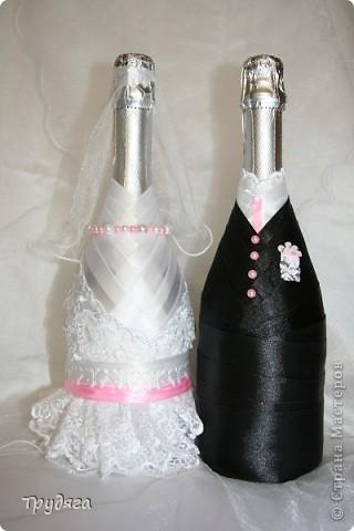 """Свадебное  """"Жемчужная пара"""" - моя первая работа. """"Жениху и Невесте"""", хотелось бы какой-нибудь головной убор, для них, конечно лучше всего шляпы, но, к сожалению, весь картон у меня в деле =), поэтому у Невесты цветочный веночек, кажется и так не плохо =) фото 2"""