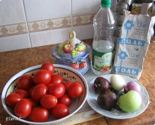 Сладкие помидоры, очень вкусные. По рецепту сотрудницы. фото 2