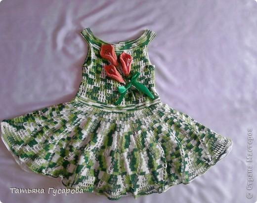 Платье вязала вот по этому описанию http://club.osinka.ru/topic-85812