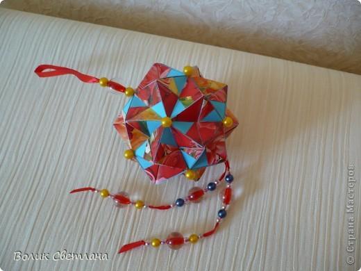 Дорогие мастерицы, продолжаю полнение в Глобальной коллекции. Все кусудамы из книги Tomoko Fuse - Floral Globe Origami  фото 6