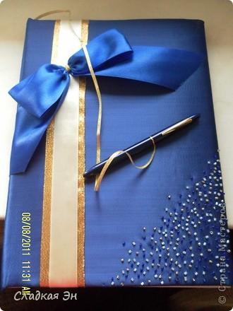 В качестве основного цвета свадьбы был выбран синий цвет. фото 2