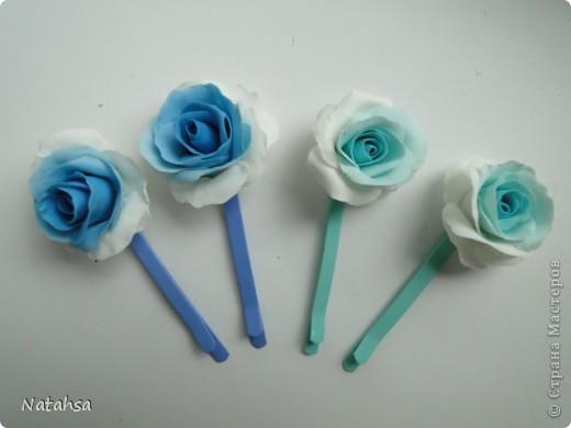 Роза (заколка) фото 1