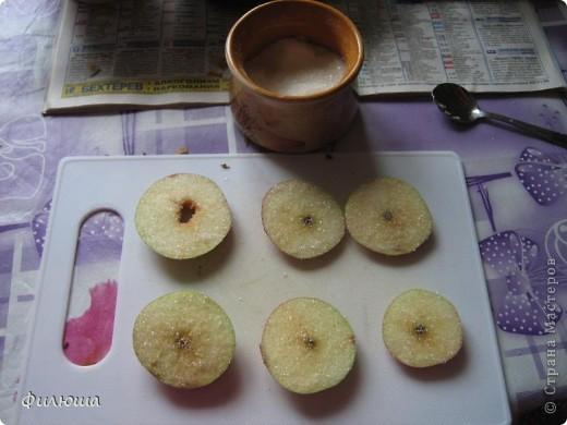 """В журнале """"Мама это Я"""" нашла рецептик : Яблоки, орешки, сахар. Ну что может быть вкуснее??!!! Запаслась..... ждем подходящее время. фото 3"""
