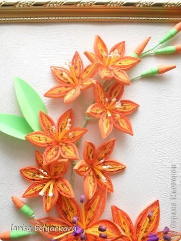 И еще лилии - квиллинг фото 2