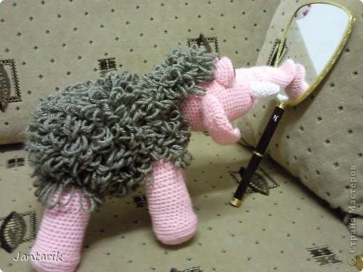 Знакомьтесь- маленькая мамонтёнка Лялечка от yuliya-kinsfater  .Я долго думала,как же мамонтёнок в женском роде будет?Мамонтиха-это уже взрослый образ и выдумалось новое слово -мамонтёнка. фото 3