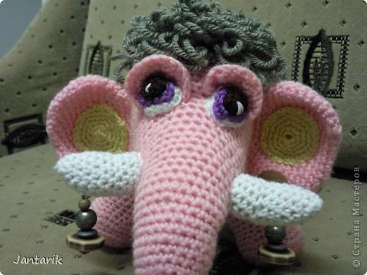 Знакомьтесь- маленькая мамонтёнка Лялечка от yuliya-kinsfater  .Я долго думала,как же мамонтёнок в женском роде будет?Мамонтиха-это уже взрослый образ и выдумалось новое слово -мамонтёнка. фото 5