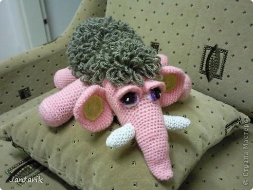 Знакомьтесь- маленькая мамонтёнка Лялечка от yuliya-kinsfater  .Я долго думала,как же мамонтёнок в женском роде будет?Мамонтиха-это уже взрослый образ и выдумалось новое слово -мамонтёнка. фото 9