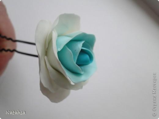 Роза (заколка) фото 3