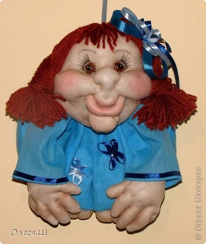 Здравствуйте! Вот сшила новую куколку. Такая Незабудка у меня получилась))) фото 4