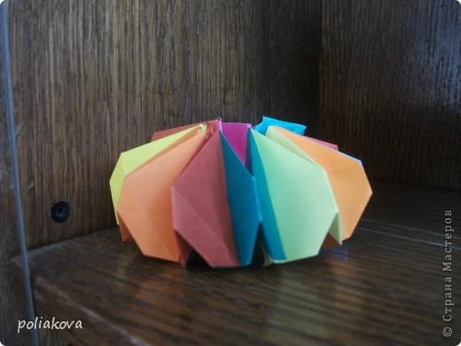 Лебёдушка-невеста. это третья моя поделка из модулей фото 13