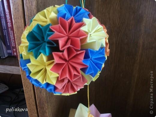Лебёдушка-невеста. это третья моя поделка из модулей фото 12