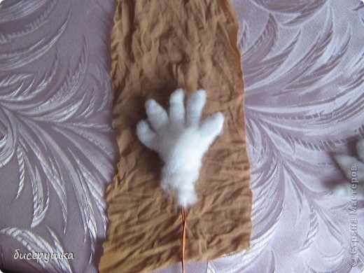 Сегодня я покажу МАСТЕР-КЛАСС по пошиву домовёнка с мешковины... фото 18