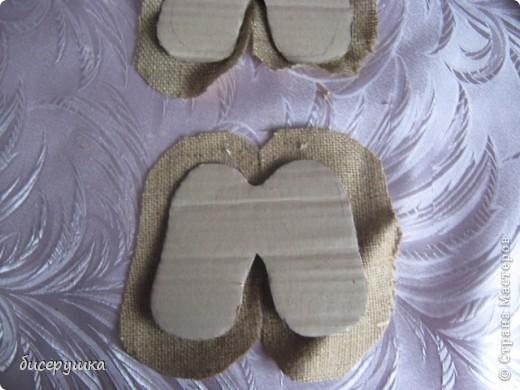 Сегодня я покажу МАСТЕР-КЛАСС по пошиву домовёнка с мешковины... фото 25