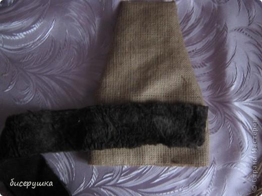 Сегодня я покажу МАСТЕР-КЛАСС по пошиву домовёнка с мешковины... фото 34