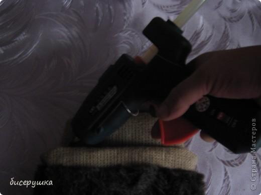 Сегодня я покажу МАСТЕР-КЛАСС по пошиву домовёнка с мешковины... фото 38