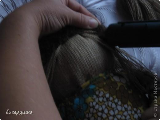 Сегодня я покажу МАСТЕР-КЛАСС по пошиву домовёнка с мешковины... фото 39