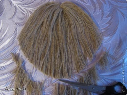 Сегодня я покажу МАСТЕР-КЛАСС по пошиву домовёнка с мешковины... фото 41
