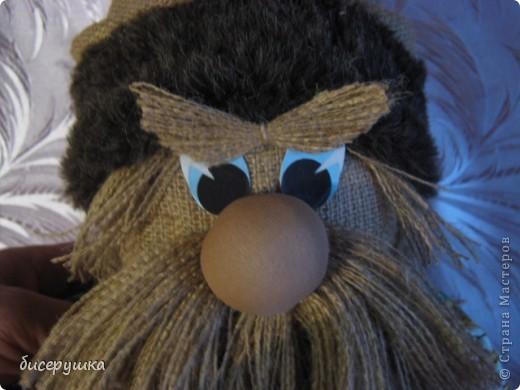 Сегодня я покажу МАСТЕР-КЛАСС по пошиву домовёнка с мешковины... фото 45